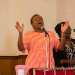 Dorothy Coles & Alia Gray Littles Temple Praise Team