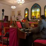 Musicians form Pentecostal House of Prayer & Littles Memorial Temple